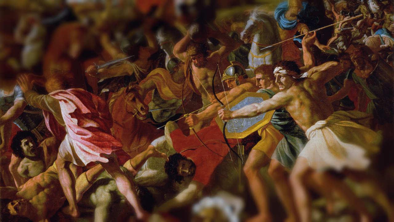Victory of Joshua over the Amalekites
