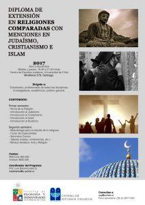 Afiche Diplomado Religiones Comparadas 2017