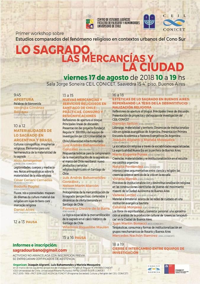Afiche workshop