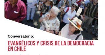Afiche Conversatorio Evangélicos 2020