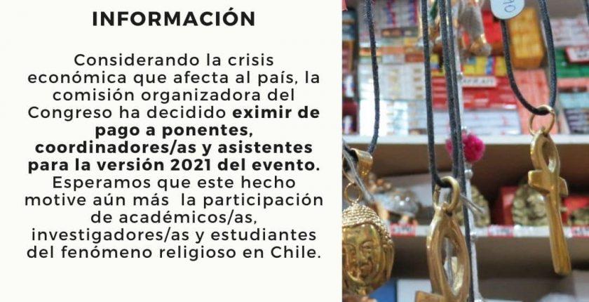 Afiche 1 - IV Congreso religión