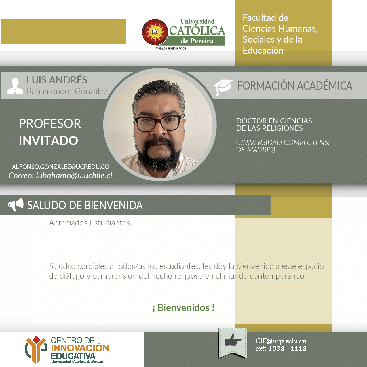 Profesor invitado
